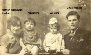 1  Alex Hadges 1927 Parents