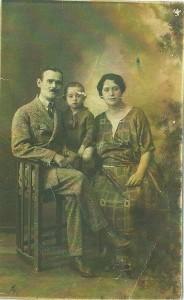 1 Jules, Corinne et Stéphane leur fils Halama à Istanbul