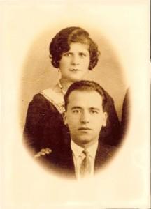 1 mon père et ma mère fiancés 1931