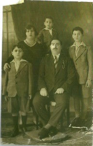 2 Bar Mitzvah de David, les parents, en haut Shoua & Albert  1932