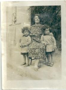 2 Juliette, Daniel & Robert Mazalto env. 1935