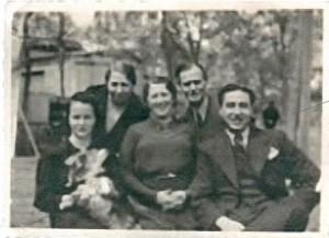 3 Eva , .., Corinne, Jules Halama et Albert Mazalto