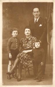 3 Famille Cohen, Paris, 1942  de Mireille