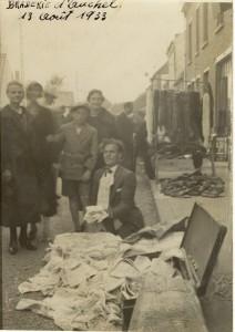 Hadjes - marché Auchel 1933 J H +