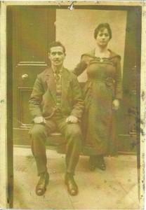 Avram et Esther Mazalto à Istanbul, années 1920
