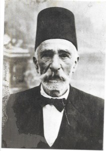 Bohor Hadjès, a quitté Izmir avant la guerre de 1914 pour s'installer en Egypte