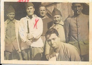 Isaac Hadjès, engagé volontaire en 1939 au camp de Barcarès près de Perpignan.père de Betty.