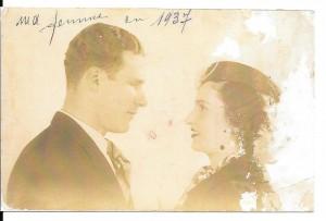 Isaac Hadjès et Oro Levy - Parents de Betty