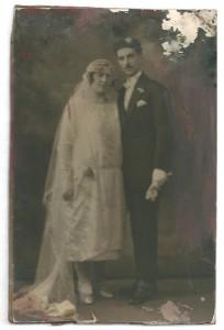 Mariage de Dora Mazalto & Santo Madjar
