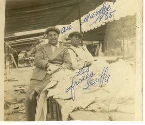 marché tissus 1935  hadjès