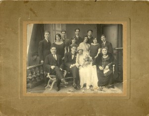 mariage_victor_esther_noël_1923