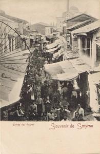 Smyrne 22 entrée du bazar