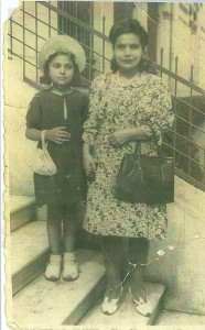 Bella Lustyk - Bella et sa maman Ambassade de F. Istanbul 1944