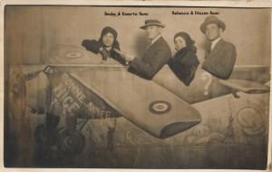 2 Konorte & Nissim  Romi & leurs épouses à Nice 1932