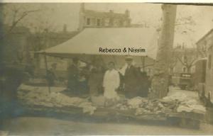 2 Rebecca et Nissim Romi marché à Bône 1935