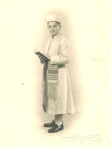 Bar Mitzvah Jacques Romi années 1950