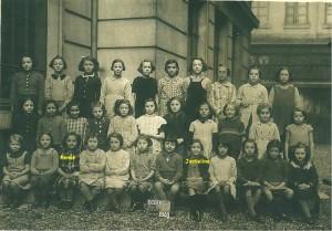 Ecole à Lyon 1940