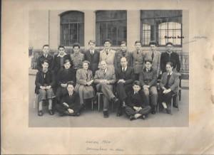 Ecole communale 1950