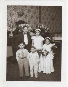 Enfants Romi au mariage