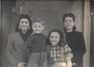 Gracie, Jacky, Renée & Rebecca