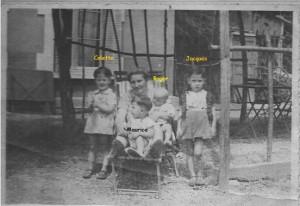 Vicky & ses enfants durant la guerre