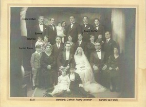 4 Famille Jaffet 1927