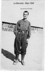 4 Mon Père Isaak Michon-Adjoubel Le Barcarès 1940