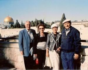 5  Robert Mizrahi & Mme & amis Jérusalem