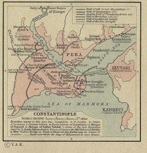 Carte de Constantinople