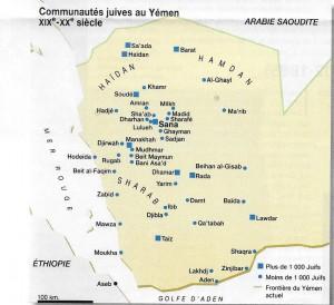 Carte Yemen