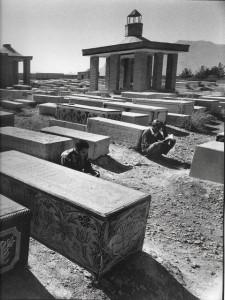 Ispahan sept 1999 cimetière