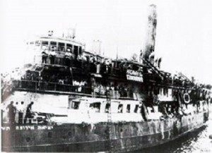 tragédie struma hiver 42 istanbul 768 morts juifs roumains